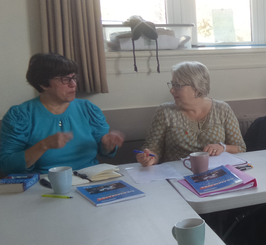 picture of French conversation class in Rossendale