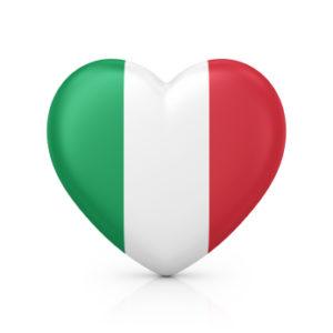 italian tutor ramsbottom image of heart in flag colours