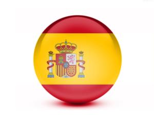 Spanish Tutor Accrington Rounded Spanish flag