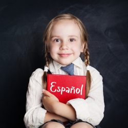 Spanish Tutor Rossendale image of girl with book